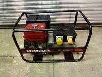 Honda GX390 13HP Petrol EC6000 Generator - Dual Voltage Output