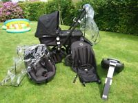 Pram - Bugaboo Cameleon. Complete package; buggy, Maxi Cosi car seat 0+ and Isofix