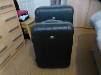 "2 X 22"" & 27"" HARDSHELL HARD SHELL SUITCASES * LIGHTWEIGHT"