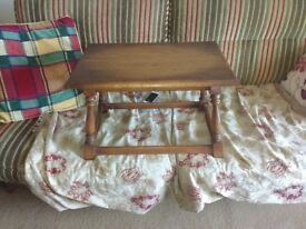 Small oak coffee/occasional table