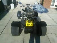 Quad motorbike