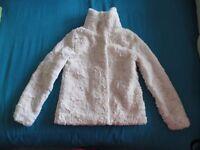 Kids Fake Fur Jacket - (Size 8-9) from H&M