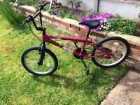 Two as new bmx bikes