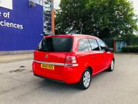 Vauxhall Zafira energy 7 seat 1.6 petrol 5dr manual, One owner from new 12 month mot