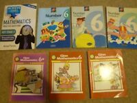 Abacus Number Textbook 1 &2, Ginn Math Textbook 1 & 2, Rising start Math Key stage -2 Level 4