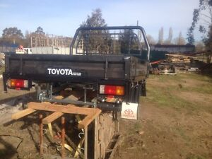 Toyota Land Cruiser genuine steel tray Walcha Walcha Area Preview