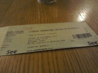 For Sale - 1 x Weekend Ticket for the Liverpool International Festival of Psychedelia.