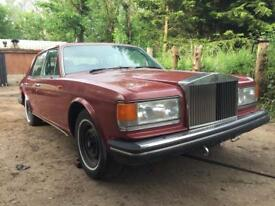 Rolls Royce silver spirit for restoration/project
