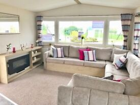 STUNNING Holiday Home, Sited Static Caravan in Heaqcham, Norfolk, Nr Sheringham. Site fees included
