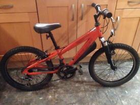 Boys landrover aluminium mountain bike 18 gears