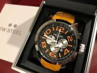 TW STEEL 48mm Watch model TW53 Brand New Not used Watch with Metal case