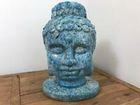 New Ceramic Large Buddha's Head Ornament