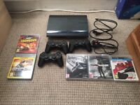 Sony PlayStation 3 (Super Slim) With 5 Games