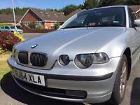 Low mileage long MOT BMW 316ti for sale