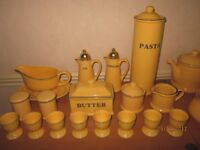 1997 Premier Housewares Yellow and blue.