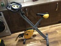 Golds gym exercise bike.