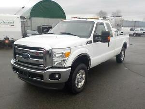 2012 Ford F-250 SD XLT SuperCab Long Bed 4WD w/ Tool Box