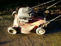 lawnflite s p mower spares or repair.