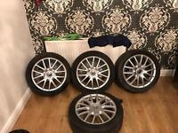Vw golf Gt alloy wheels