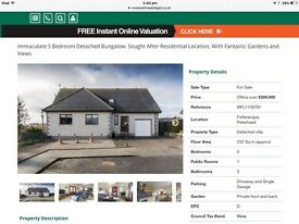 5 bed detached home for sale