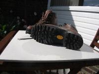 Scarpa 3/4 season leather boots