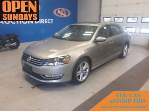 2012 Volkswagen Passat 2.0 TDI DIESEL! LEATHER! SUNROOF!