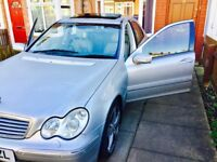 Mercedes C320 Petrol / not bmw audi passat peugeot golf