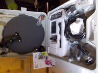 hp portable satellite system