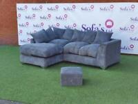 Brand new jumbo cord corner sofa sets 🔥😍✅