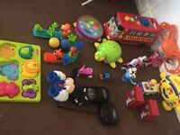 toys bundle used and not in perfect condition