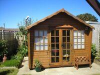 8' X 10' Wooden Summer House