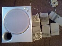Sony 5.1 Speaker Surround System with Sub