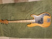 1973 Vintage Fender Precision Bass Guitar,original pick - ups .