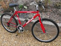 VINTAGE MUDDY FOX - COCA COLA MOUNTAIN BIKE ,EXCELLENT CONDITION