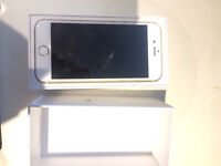 Apple Iphone 6 16GB fully boxed good condition GOLD ee