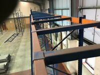 USED PALLET RACKING SUPPORT BARS SHELVING SUPPORT BEAMS (Brentwood Branch)