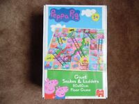Giant Peppa Pig Snakes And Ladders Game 80 X 80cm BNIB