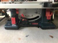 Bosch GTS10XC table saw