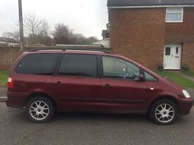 Ford Galaxy 2.3 Petrol with MOT 07/2017 (no advisories) service History £795