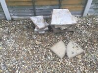 Free pavers as pictured