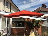 Pyramid patio/garden canopy