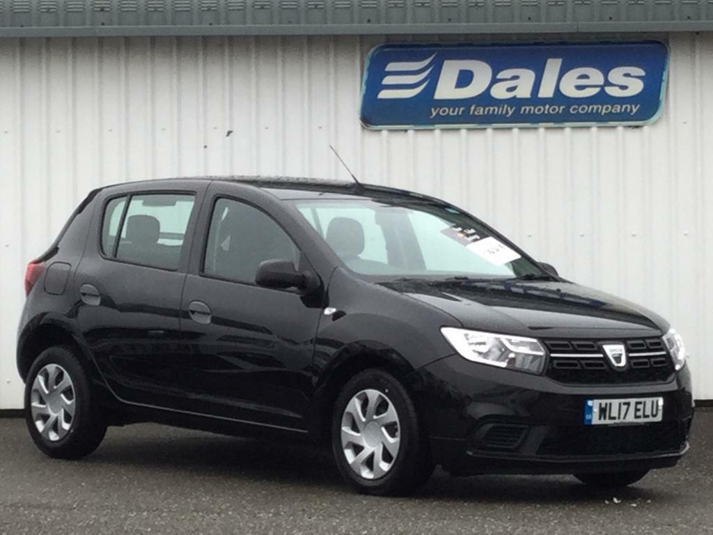 dacia sandero 1 5 dci ambiance 5dr pearl black 2017 in newquay cornwall gumtree. Black Bedroom Furniture Sets. Home Design Ideas