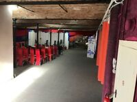 Industrial MILL Spacious Secure 2nd Floor Storage Space warehouse LET RENT big LIFT OPEN OFFICE Spac