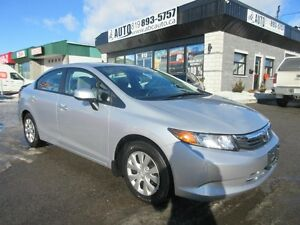 2012 Honda Berline Civic LX (Power Group, A/C, $79.80/Bi-weekly)