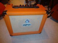 Orange Crush 20LDX Amplifier in V good cond