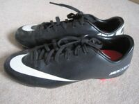 Unisex Nike Mercurial football boots size 3