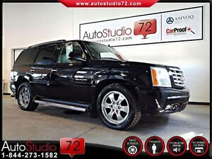 2006 Cadillac Escalade **6.0L**7 PASSAGERS**DVD**CUIR**TOIT**BOS
