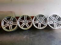 """Bmw 19"""" m sport wheels and tyres"""