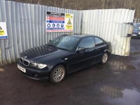 breaking for spares bmw 318 coupe 2.0 2006