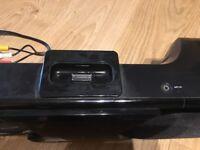 Wharfdale 100W speaker sound bar for tv / iPod / smart phone